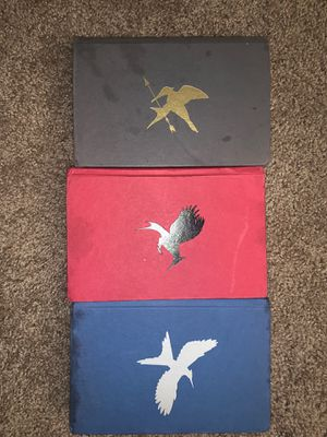 Hunger games books hard cover for Sale in Arroyo Grande, CA