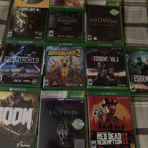 Xbox Games Lot for Sale in Florida City, FL