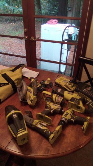 Ryobi portable tool set for Sale in Lynnwood, WA