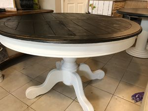 """Farm style dining table 47"""" for Sale in Rockville, MD"""