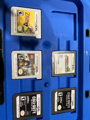 (5) Nintendo 3DS Games Only with case for Sale in Brooklyn, OH