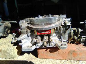 Edlebrock Performer 650cfm hi performance. Needs accelerator pump for Sale in Pawhuska, OK