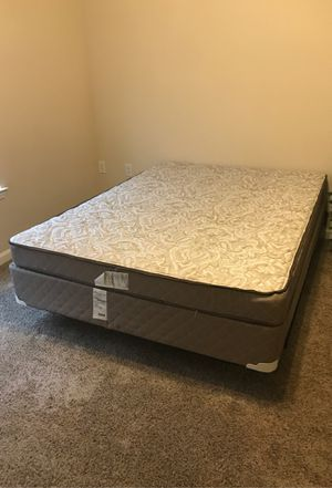 Queen Mattress w/ Box and Frame for Sale in Raleigh, NC