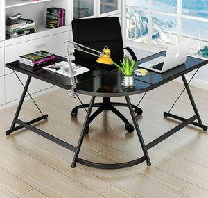 Brand new L shaped desk, Home office desk, gaming desk, writing desk, computer desk. *SAME DAY DELIVERY* for Sale in Fort Lauderdale, FL
