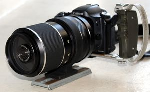 Canon DSLR with Lentar 500mm mirror telephoto lens, Canon charger, batteries, manual, case for Sale in Santa Monica, CA