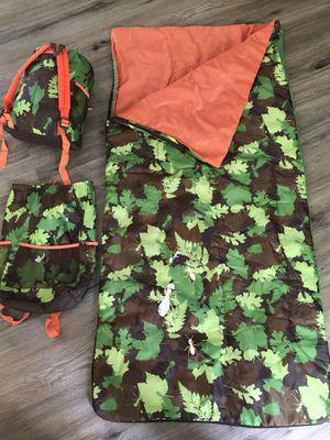 Woodsy themed Sleeping Bag for Sale in Leesburg, VA