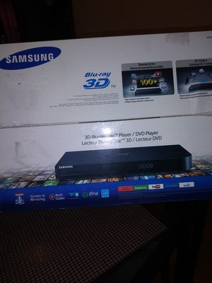 Samsung 3D blu-ray / Dvd player for Sale in Chicago, IL