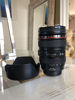 Canon EF Zoom 24-105mm F/4.0 for Sale in The Bronx, NY