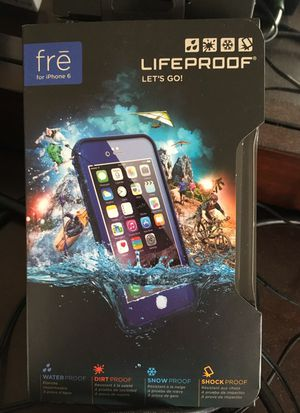 LifeProof fre iPhone 6 water/dirt/snow/shock proof for Sale in Silver Spring, MD