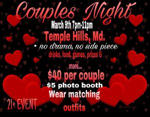 Couples Night full of Fun and Games for Sale in Fort Washington, MD