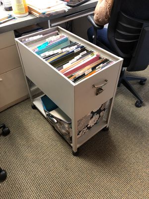 Portable file cabinet for Sale in Huntington Beach, CA