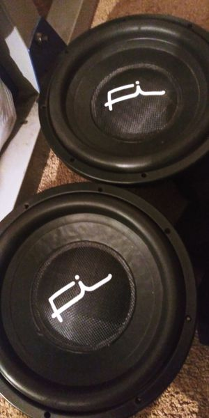 Fi ssd 12s dual 1 ohms for Sale in Fresno, CA