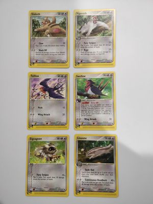 Slakoth, Taillow, Zigzagoon Mint Pokemon EX - R&S for Sale in Forest Heights, MD