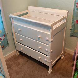Crib and dresser for Sale in Stockton,  CA