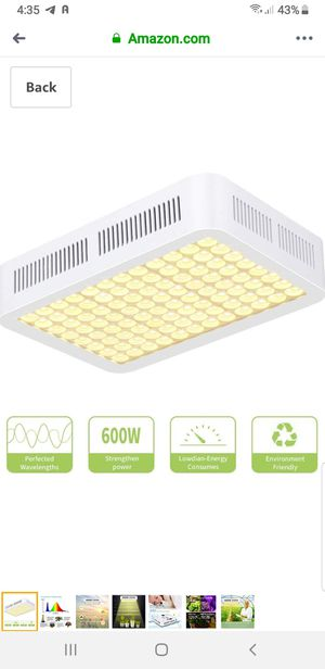 600W LED Grow Light for Sale in Union City, CA