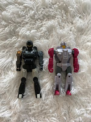 Two vintage Transformers action figures for Sale in Fayetteville, NC