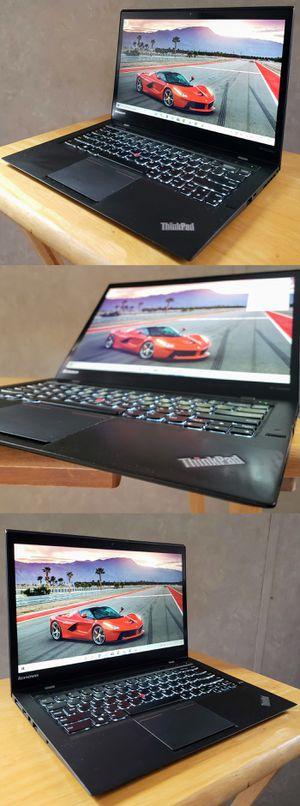 Lenovo X1 Carbon Ultrabook Touchscreen Laptop i7 SSD Windows 10 Pro Photoshop for Sale in Scottsdale, AZ