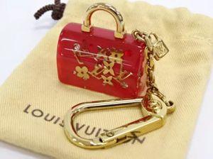 Louis Vuitton Key Ring Charm Holder Red Speedy Bag Motif for Sale in Chandler, AZ