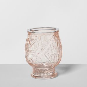 Opalhouse Target Pink Blush Glass Toothbrush Makeup Brush Holder for Sale in Los Angeles, CA