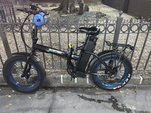 """Ecotric 20"""" fat tire e bike for Sale in New York, NY"""