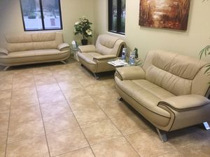 Couch and 2 love seats for Sale in Gilbert, AZ