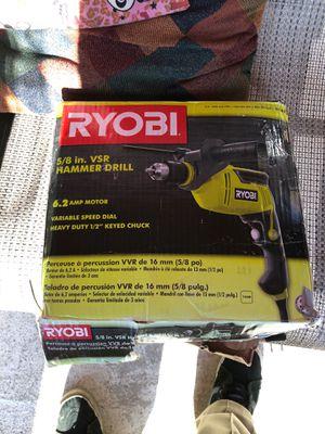 Ryobi 5/8 hammer drill for Sale in Sacramento, CA