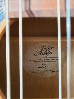 La Patrie Etude Classical Guitar for Sale in Medford, MA