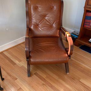 Ralph Lauren leather Chair for Sale in McLean, VA