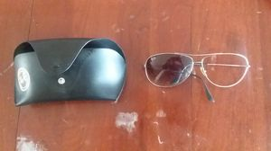 Ray Ban Sunglasses - missing one lens these were bought at nordstroms for Sale in Bermuda Dunes, CA