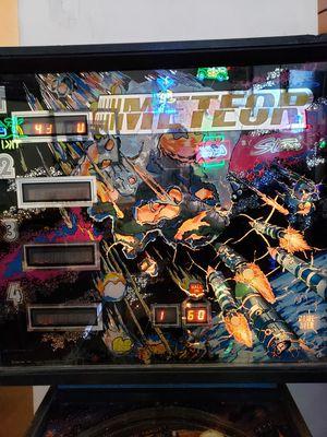 Original METEOR pinball machine working! for Sale in Phoenix, AZ