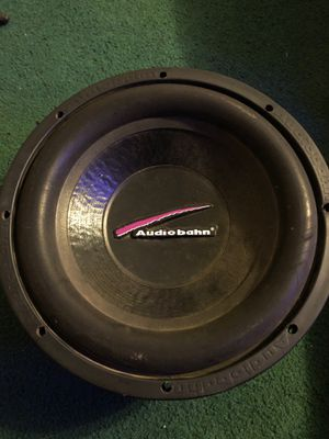Audio bahn pro subwoofer 12inch with pro magnet on back for Sale in Lexington, KY