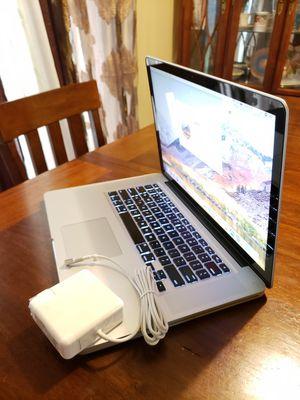 Late-2011 Macbook Pro 15 Intel Core i7 Processor has 8gb Ram + 500gb HDD Sierra High installed for Sale in Minneapolis, MN