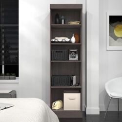 New Bestar Grey Storage Unit Bookcase Shelf for Sale in Los Angeles,  CA