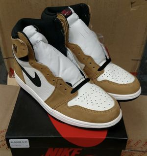 Jordan 1 ROTY SZ9 brand new only tried on Comes with box and extra red laces for Sale in Miami, FL