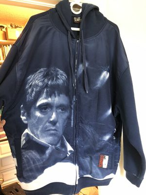 Scarface Hoodie Jacket 2XL for Sale in Riverview, FL
