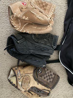 Little league baseball gloves for Sale in Newman, CA