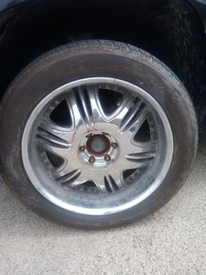 Four chrome tire rims for Sale in Chicago, IL