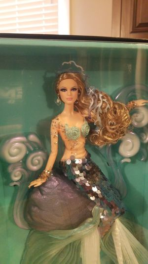 The Mermaid Fantasy Gold Label Collectable Barbie NIB w/shipper for Sale in Long Beach, CA