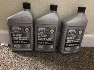Full synthetic motor oil for Sale in Loma Linda, CA