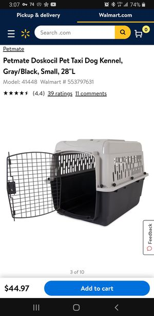 Pet Taxi Dog Kennel for Sale in Houston, TX