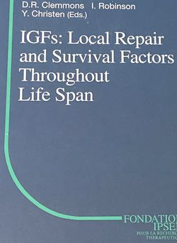 IGFs Local Repair And Survival Factors Throughout Life Span (Springer) for Sale in Farmington,  UT