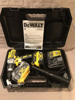 Brand new never used Dewalt XR 20V brushless 3 speed hammer drill tool set. for Sale in Vacaville, CA