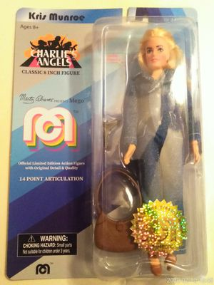 "COLLECTIBLE 2018 LIMITED EDITION MEGO TV FAVORITES CHARLIE'S ANGELS KRIS MUNROE 8"" ACTION FIGURE . for Sale in El Mirage, AZ"