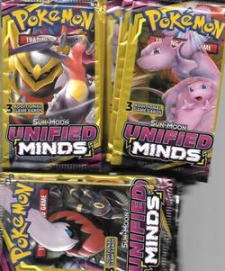 POKÉMON UNIFIED MINDS BOOSTERS! for Sale in Springfield,  OR