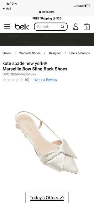 Kate Spade Wedding Shoes for Sale in Norfolk, VA