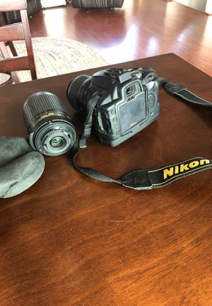 Nikon digital camera d60 for Sale in Haleiwa, HI