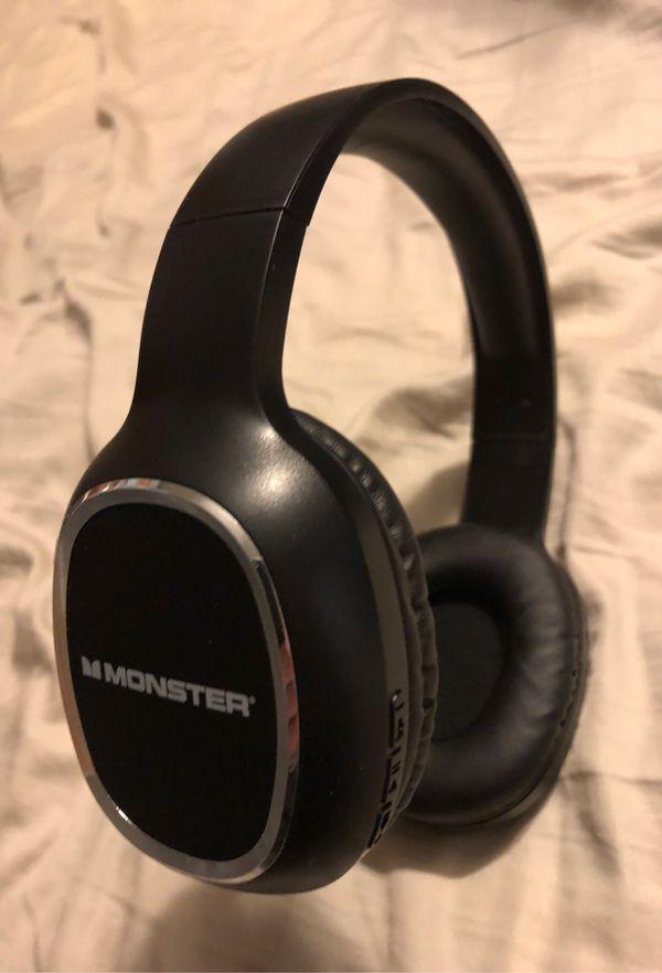 Monster (wireless) headphones