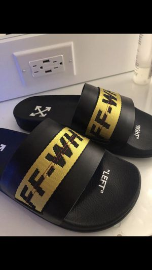 AUTHENTIC OFF WHITE SLIDES for Sale in Chino, CA