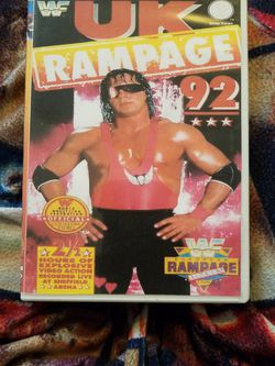 Wwf UK Rampage 1992 Dvd for Sale in Chicago,  IL