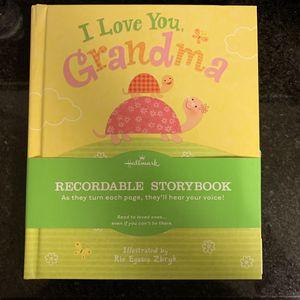 Hallmark Recordable Book For Grandma - New for Sale in Sacramento, CA